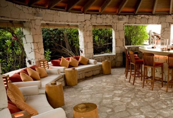 Lotus bar at Parrot Cay