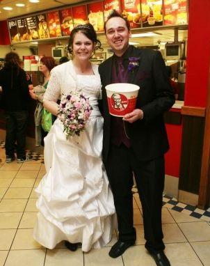 KFC Wedding