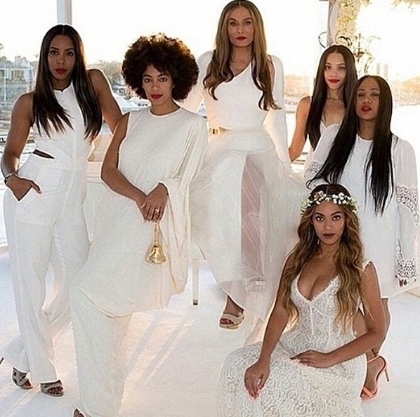 Beyonce Bridesmaid