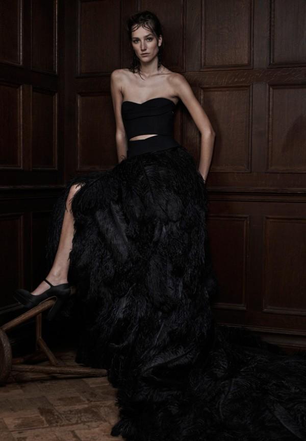 Vera Wang 2016 black