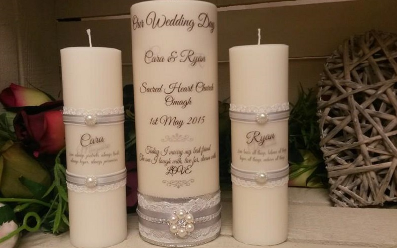 devine wedding candles