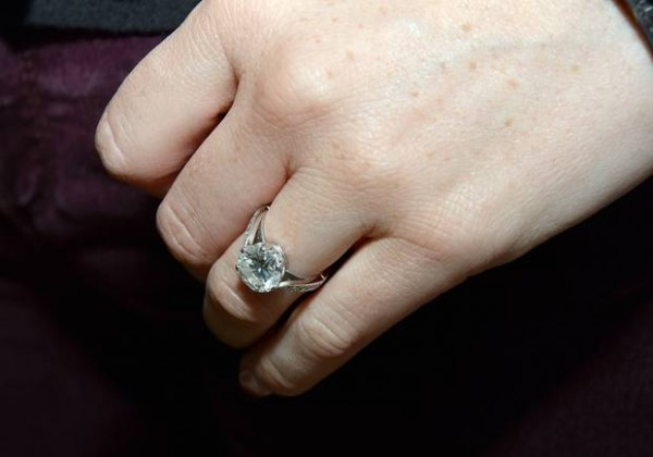 Mairead Farrell engagement ring