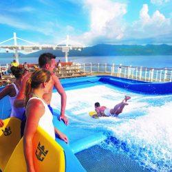 water slide on cruise ship