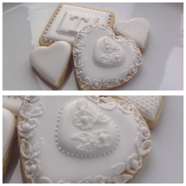wedding favour cookie