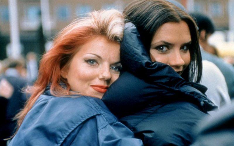 Geri Halliwell and Victoria Beckham