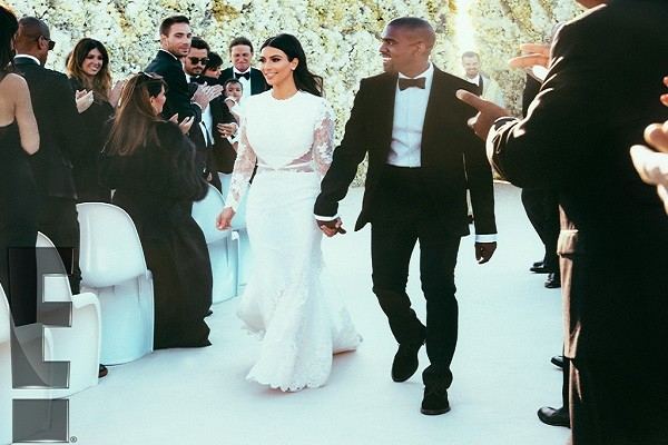 Kim and Kanye vow renewal