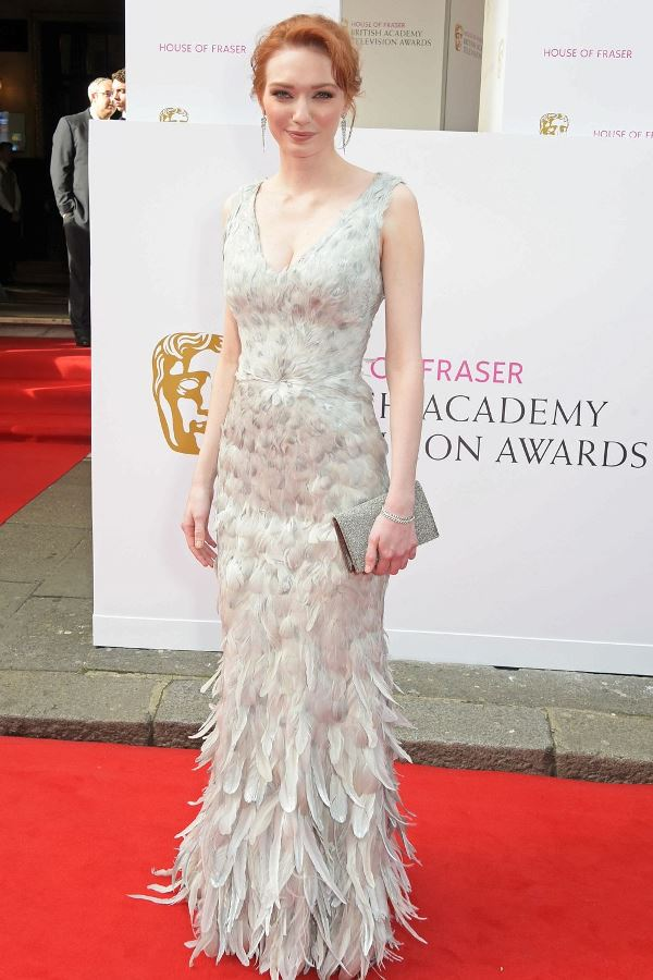 Fashion from 2015 TV Baftas