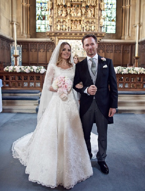 Geri Halliwell Wedding