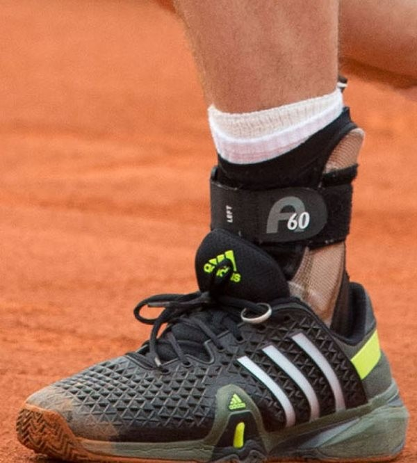 Andy Murray Tennis Shoes With Wedding Ring