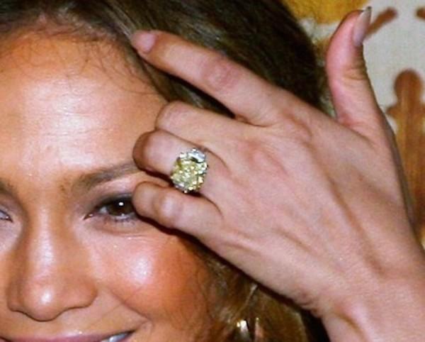 Jennifer Lopez Engagement Ring