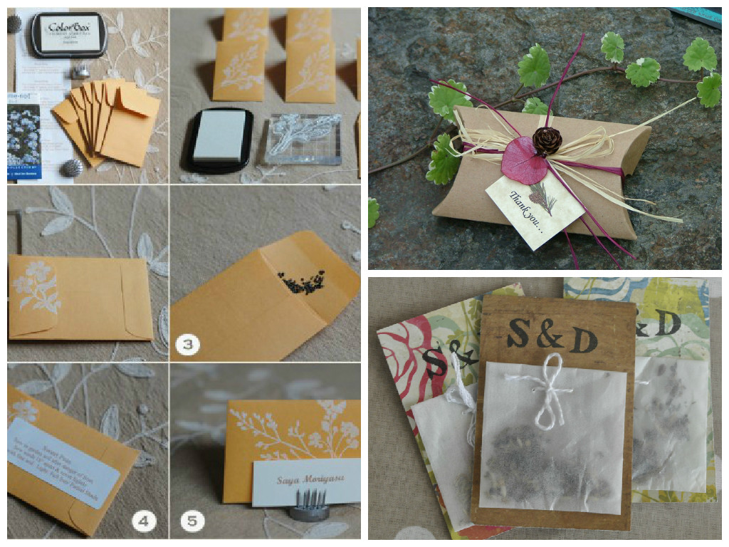 Let Love Grow Low Cost D I Y Wedding Favours 19