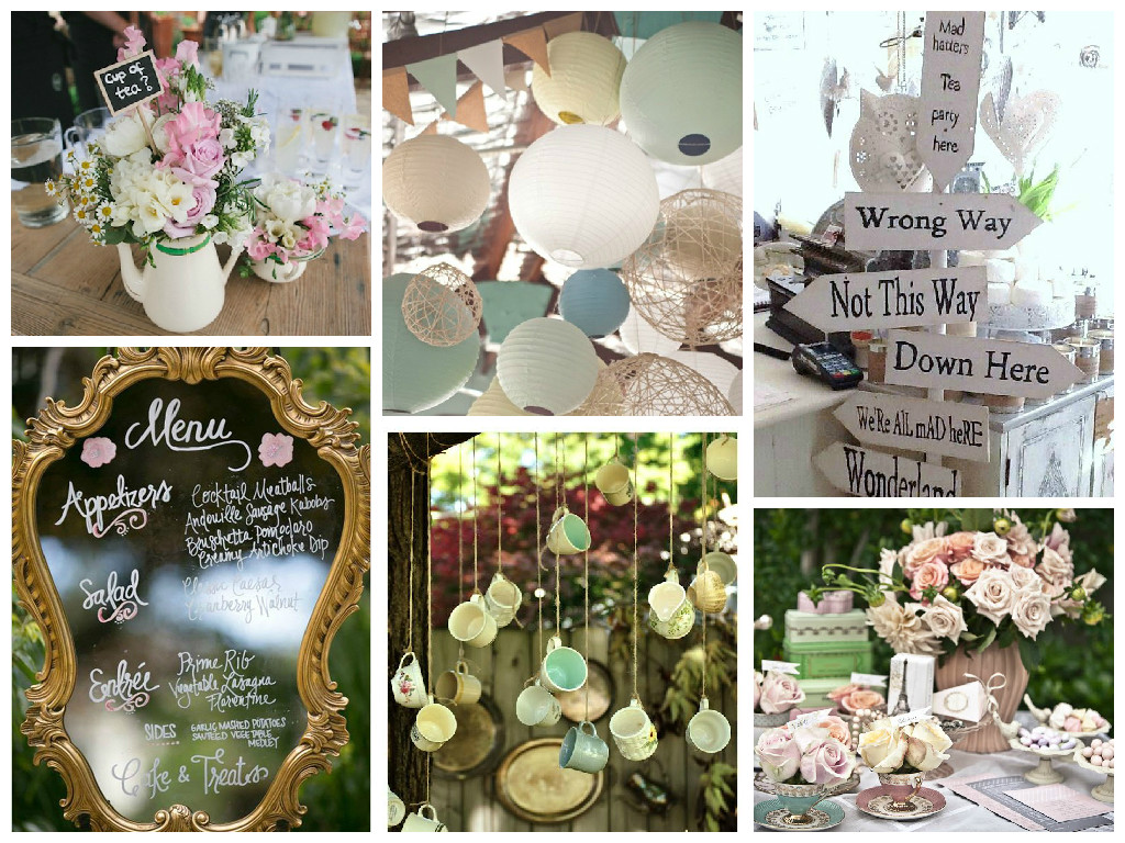 How to host the perfect tea party wedding wedding for Wedding party decorations
