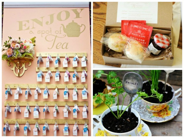 Tea Party themed wedding 8