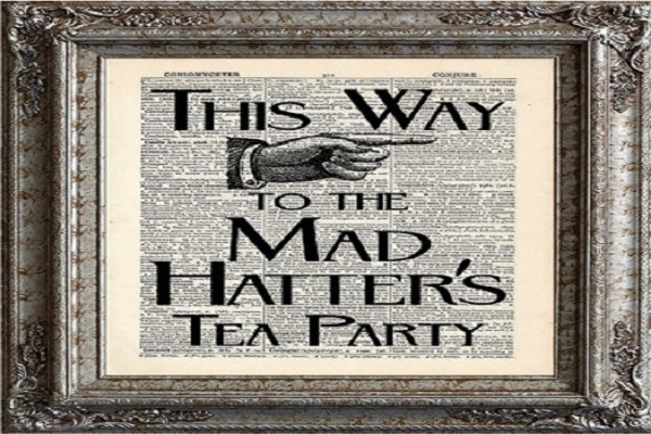 tea party themed wedding 9