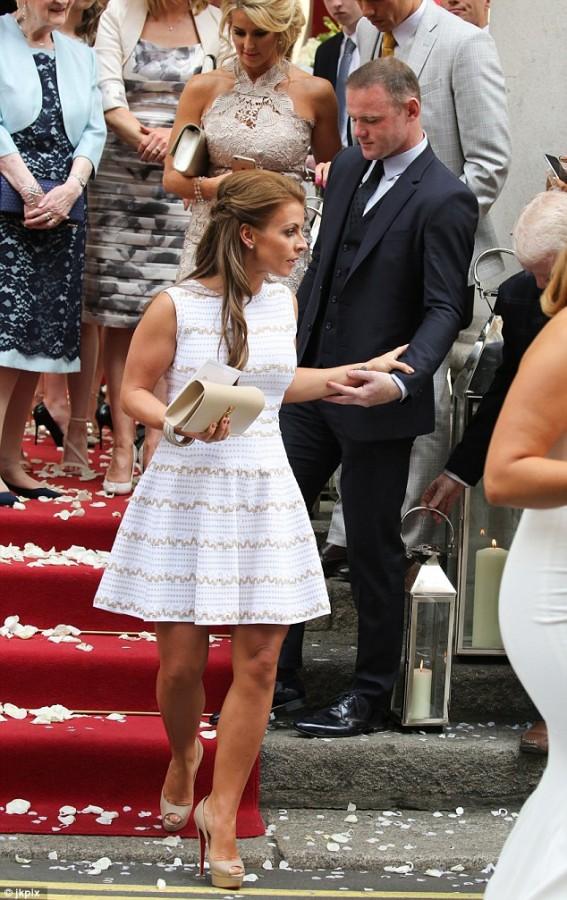 Georgina Dorsett marries football star Tom Cleverley