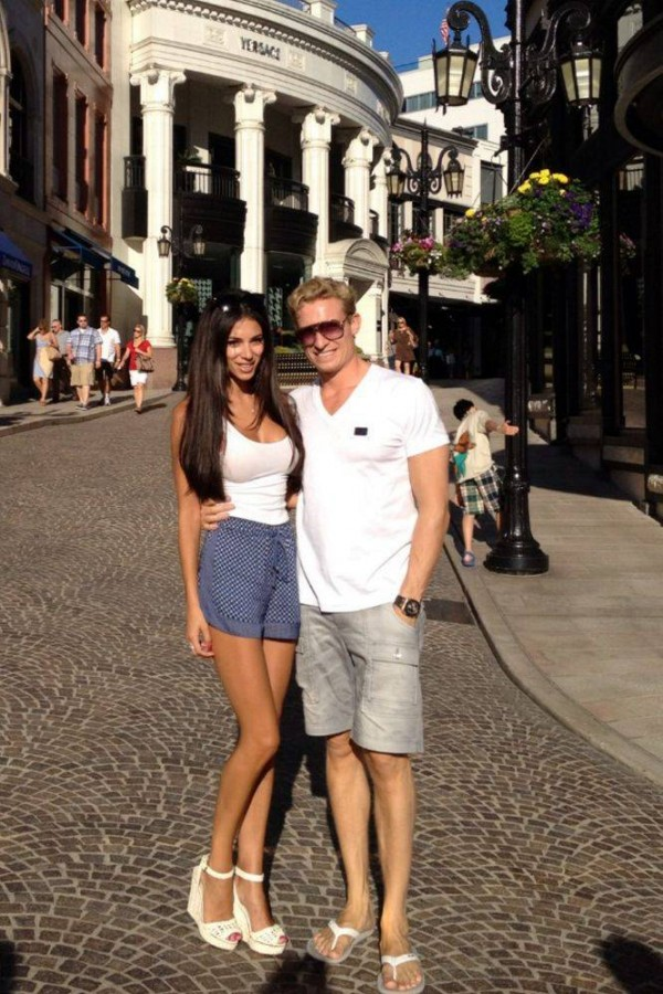 Georgia Salpa shares first honeymoon photos