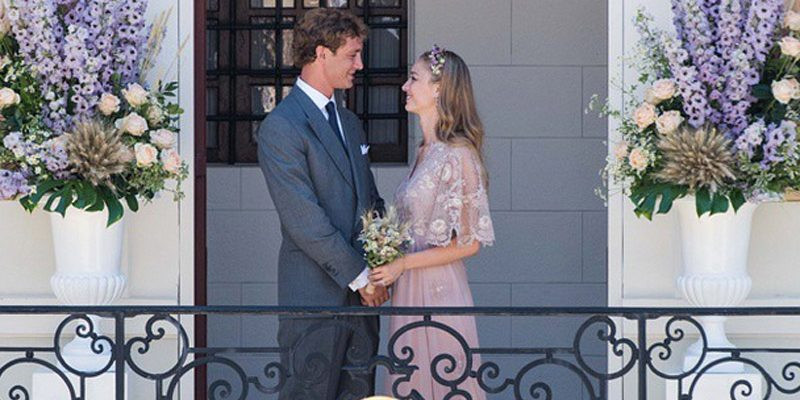 Monaco celebrate royal wedding