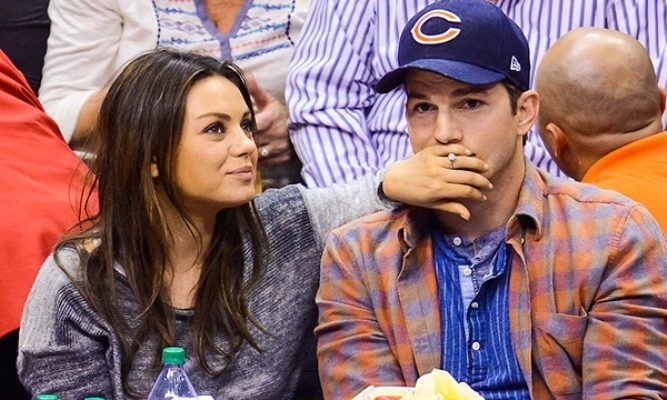 Ashton Kutcher and Mila Kunis tied the knot