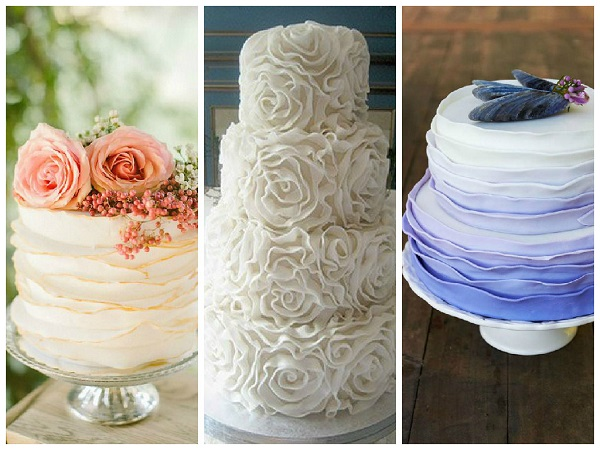 Host a ruffle-theme wedding