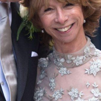 Helen Worth silver wedding dress