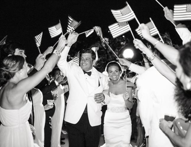 fourth of july wedding inspiration