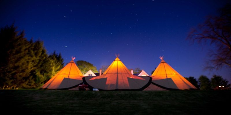 rossahilly house tipi