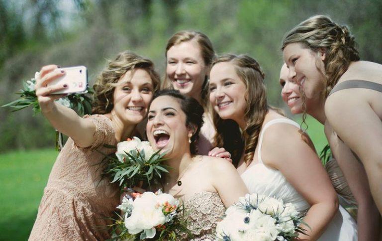 Wedding-day-selfies