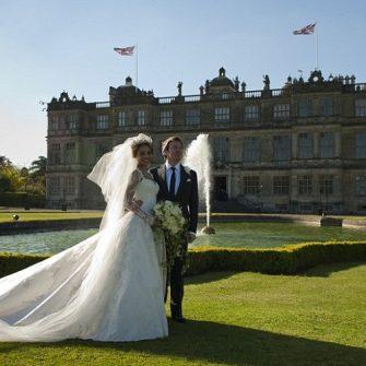 Ceawlin Thynn and Emma McQuiston wedding