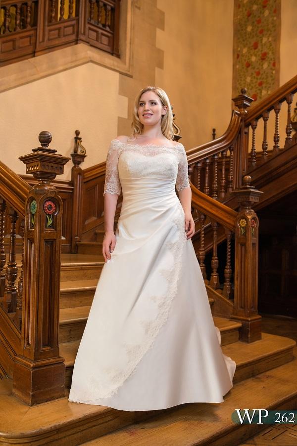 curvy bride a-line wedding dress (1)