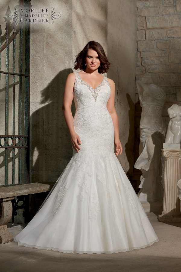 Guide To Plus Size Wedding Dress Styles For Curvy Brides Wedding