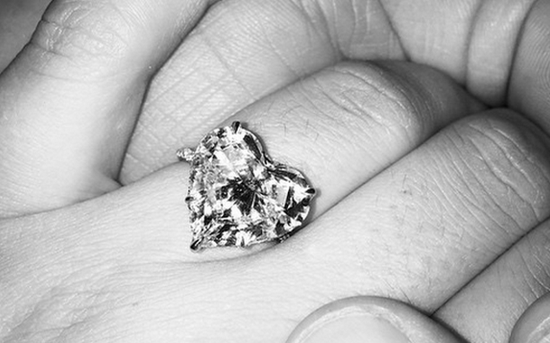 Lady Gaga's engagement ring