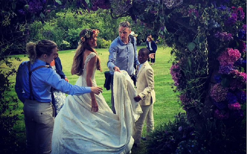 First pics of Guy's Ritchie GORGEOUS festival-themed nuptials