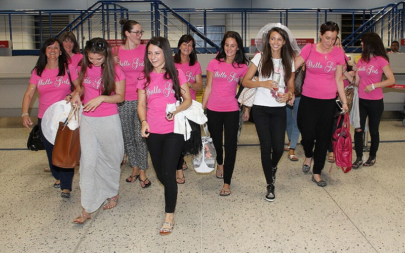Michelle Keegan hen do