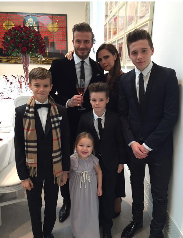 Posh and Becks celebrate anniversary