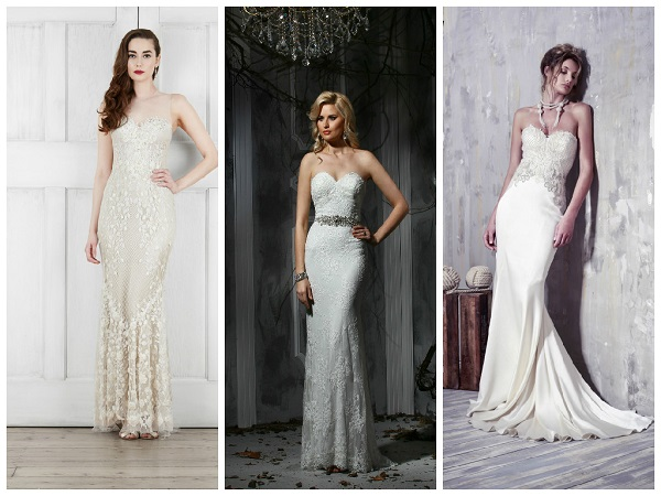 Julie Vino Designer White Wedding Dresses on holicoffee.com