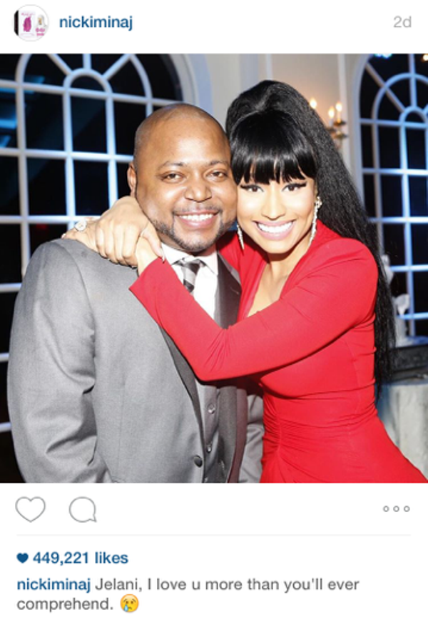 nicki minaj brother wedding