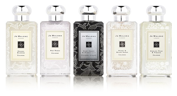Jo Malone lace bottles