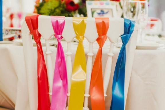 Rainbow wedding ideas Weddbook.com