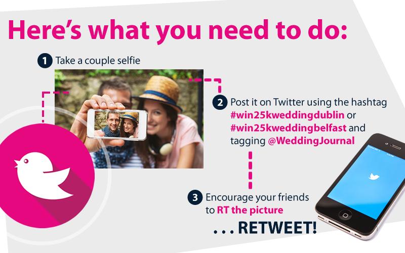 Win a wedding Twitter