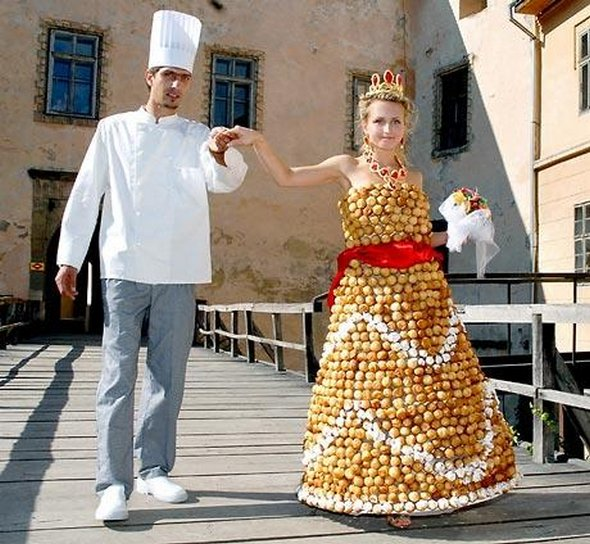 Weirdest Wedding Dresses