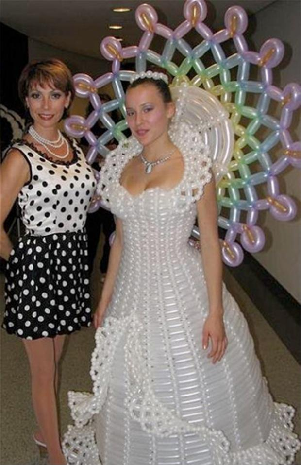 Weird wedding dresses 3 Dumpaday.com