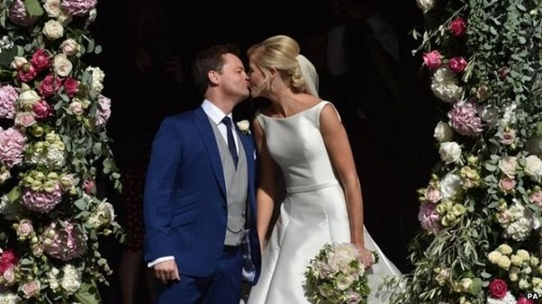 Declan Donnelly wedding highlights
