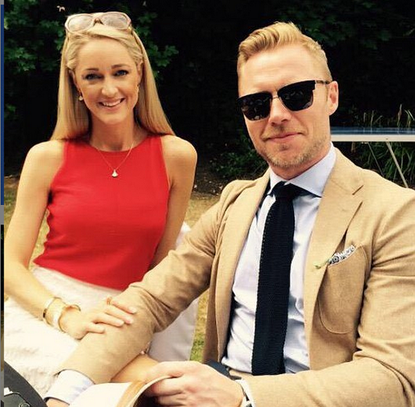 Ronan Keating to marry in Scotland in TWO WEEKS
