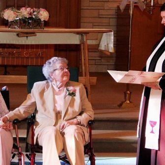 pensioner same sex marriage