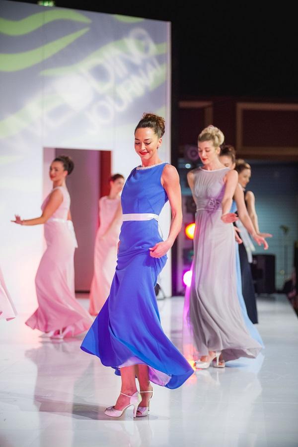 Bridesmaid fashion on the catwalk