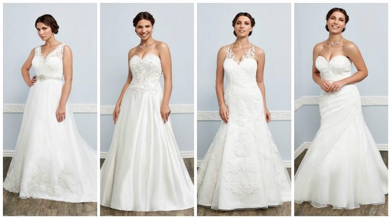 fashion for the fuller-figured bride
