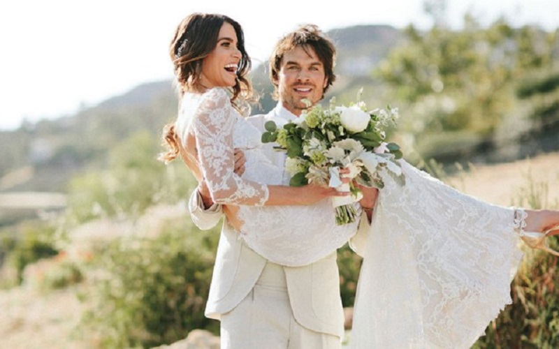 Vampire Diaries' star Ian Somerhalder & Nikki Reed's weddin