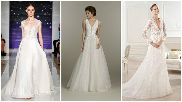26 A-line wedding dresses that flatter all figures