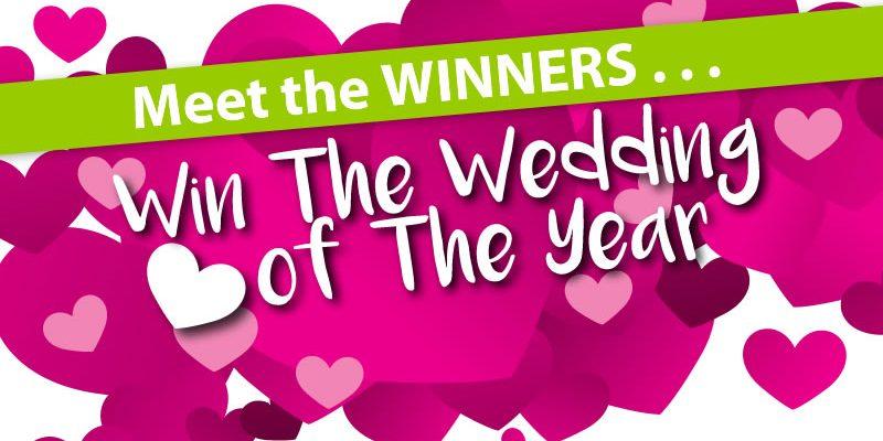Win a £/€25,000 wedding winners