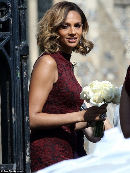 Alesha Dixon's gorgeous bridesmaid dress